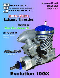Model Engine Collecting Journal