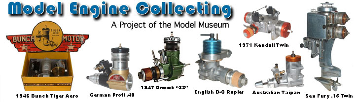 model engine collecting